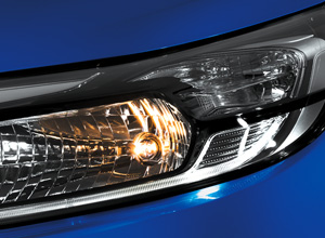 New Headlights with LED Guide Lights