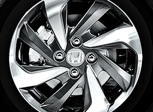 "RS Design 15"" Aluminum Alloy Wheels (1.5 RS Navi CVT only)"