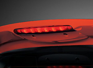 RS Design Tailgate Spoiler with LED High Mount Stop Lamp (1.5 RS Navi CVT only)