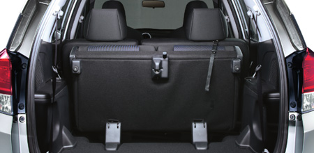 Flexible Luggage Space