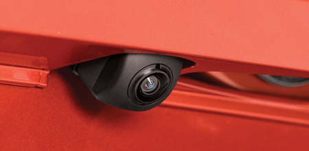 Rear Camera with Guidelines (1.5 RS Navi CVT only)