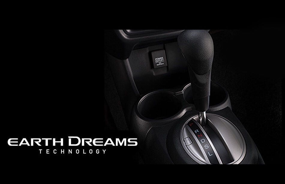 1.2 L SOHC i-VTEC engine with Earth Dreams Technology Continuously Variable Transmission