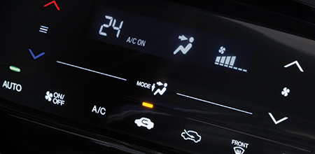 Touch Panel Auto Aircon