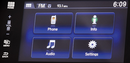 close 7-inch Touchscreen Display Audio