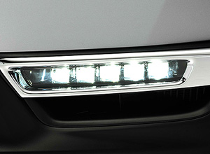 LED Fog Lights With Chrome Garnish