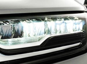 LED Headlights With Leveling