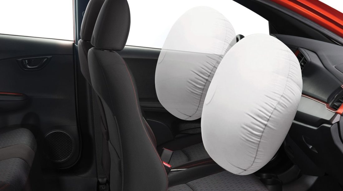 Driver and Front Passenger Airbags